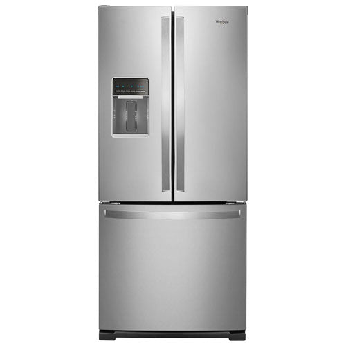 Whirlpool - 30 Inch French Door Refrigerator with Exterior Water Dispenser - WRF560