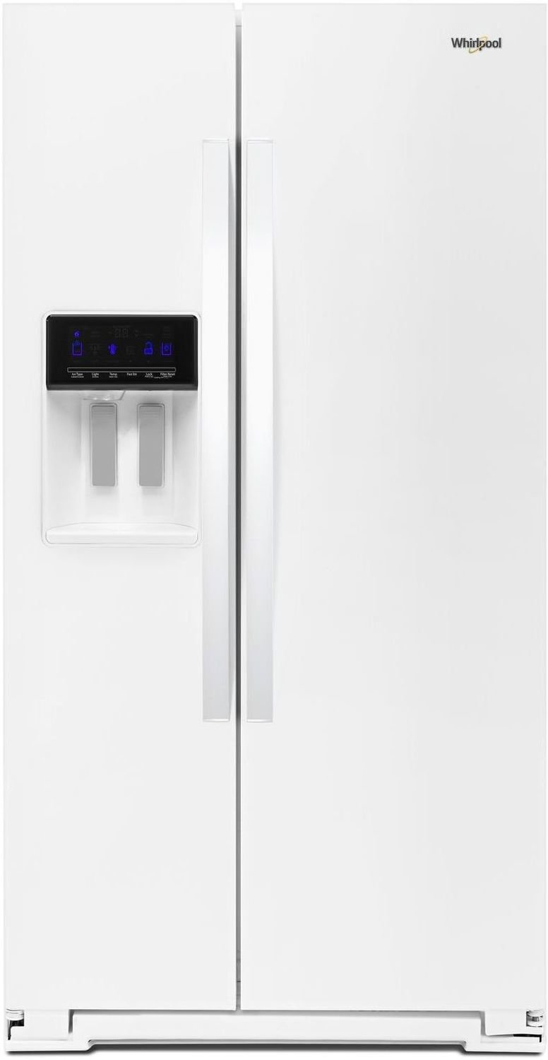 Whirlpool - 36-inch Wide Side-by-Side Refrigerator - 28 cu. ft. - WRS588