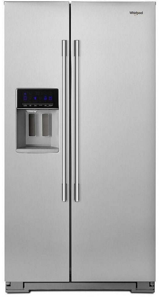 Whirlpool - 36-inch Wide Contemporary Handle Counter Depth Side-by-Side Refrigerator - 21 cu. ft. - WRSA71