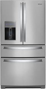 Whirlpool - 36-inch Wide 4-Door Refrigerator with Exterior Drawer - 26 cu. ft. - WRX986