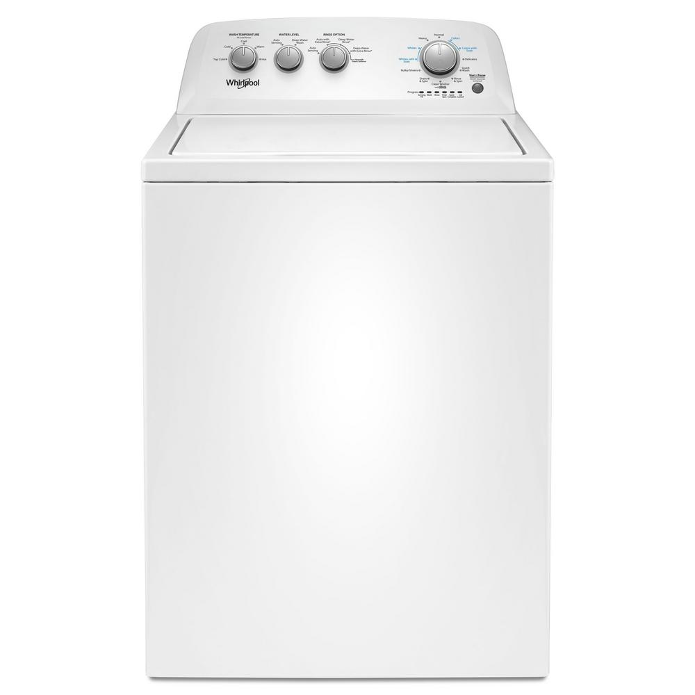 Whirlpool - 4.4 Cu. Ft. Top Load Washer With Soaking Cycles - WTW4855HW