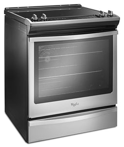 Whirlpool - 30 Inch Front Control Slide In Range With True Convection - YWEE745H0FS