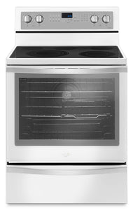 Whirlpool 6.4 Cu. Ft. Freestanding Electric Range with True Convection - YWFE745