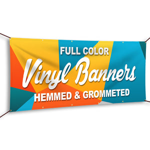 "Custom ""FULL COLOR"" Vinyl Banner"