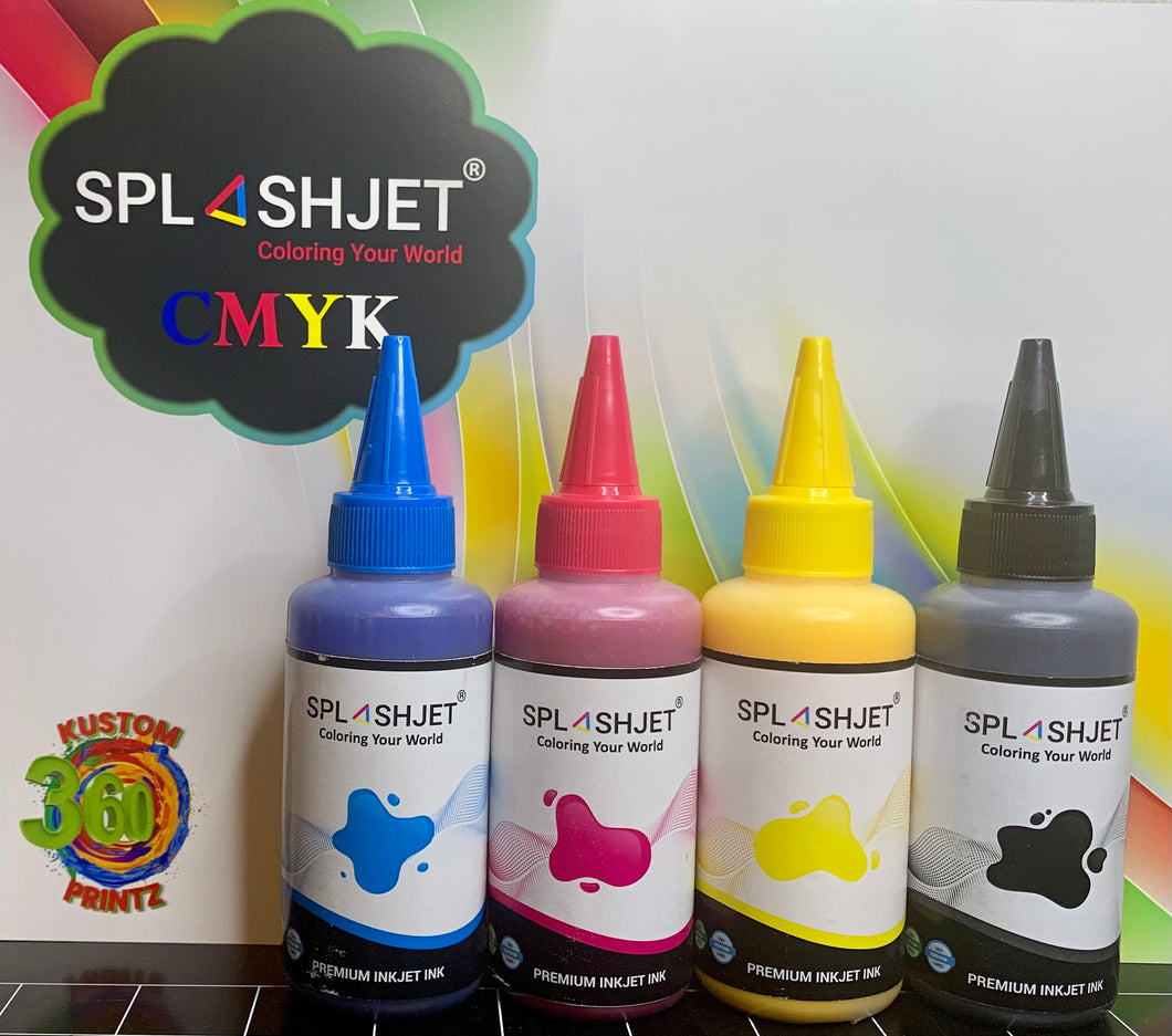 SPLASHJET SUBLIMATION INK
