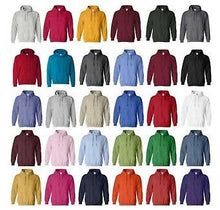"Load image into Gallery viewer, Custom Printed Full Color Hooded Sweatshirt ""Color"""