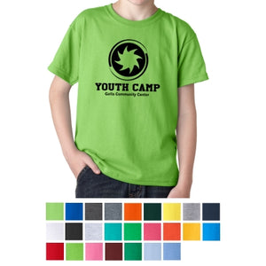 "Youth Custom Printed ""FULL COLOR"" T-Shirt"