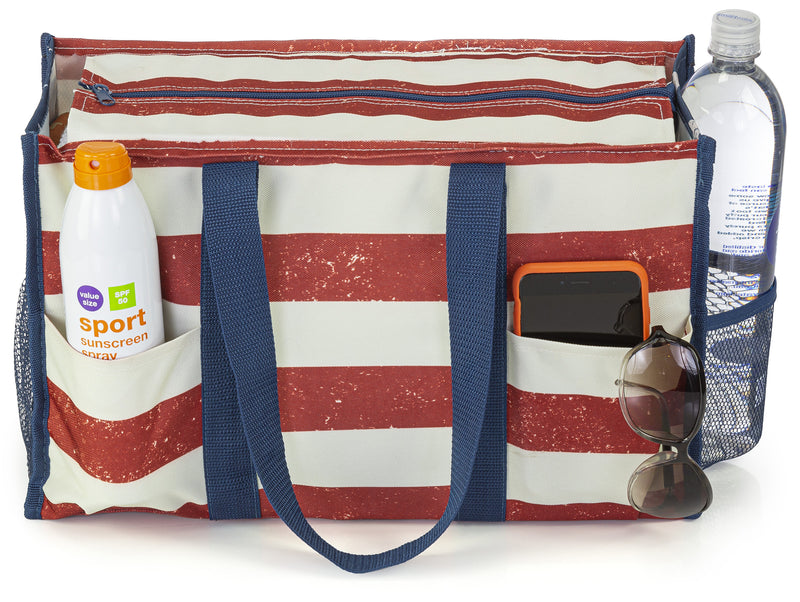 Old Glory All Purpose Utility Tote Bag