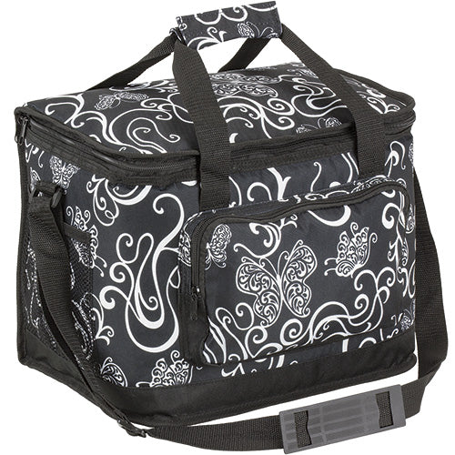 Butterfly Swirl Insulated Collapsible Cooler Bag