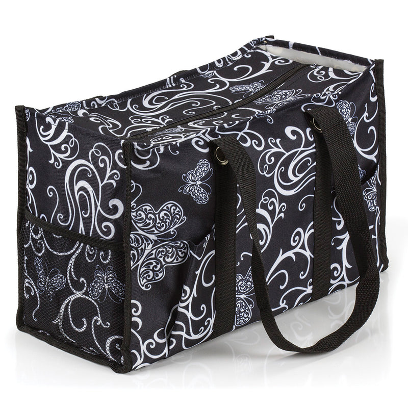 Butterfly Swirl All Purpose Utility Tote Bag