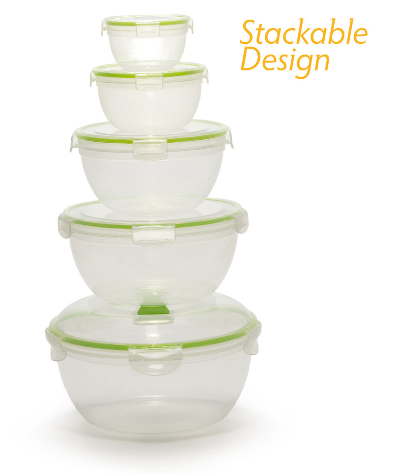 Airtight Food Storage Containers Set of 5