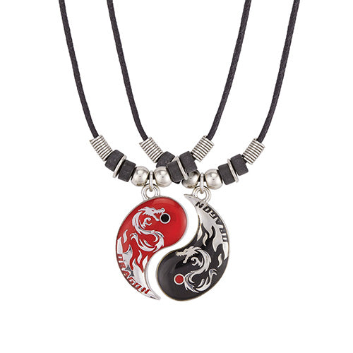 Dragon Yin Yang Necklace