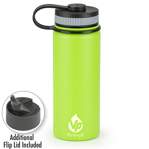 VP Hydro2O Green  Stainless Steel Water Bottle
