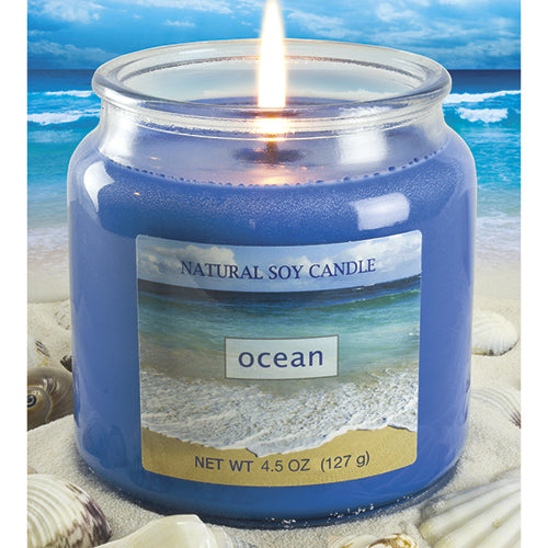 Ocean Scented Natural Soy Candle