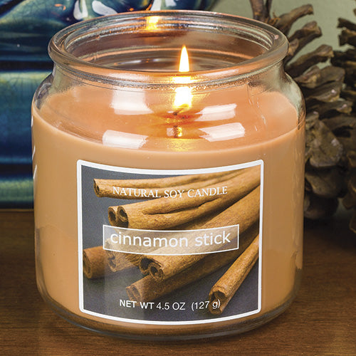 Cinnamon Stick Scented Natural Soy Candle