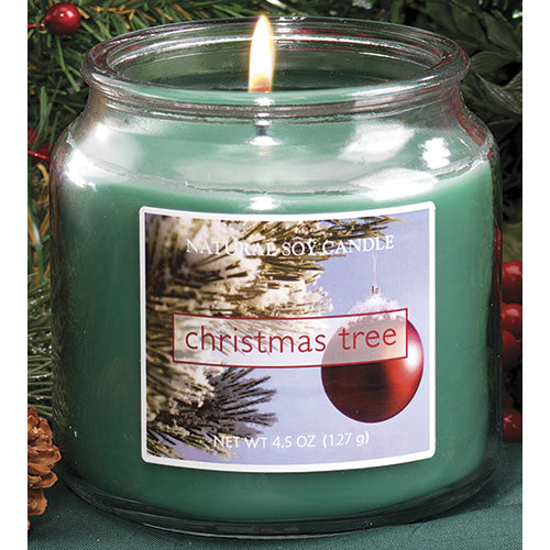 Christmas Tree Scented Natural Soy Candle