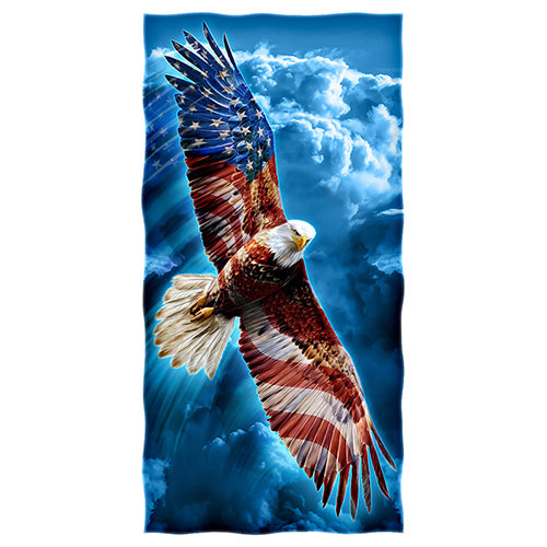 American Eagle Beach and Shower Towel