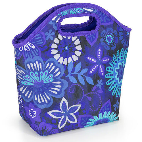 Exotic Floral Insulated Lunch Tote Bag