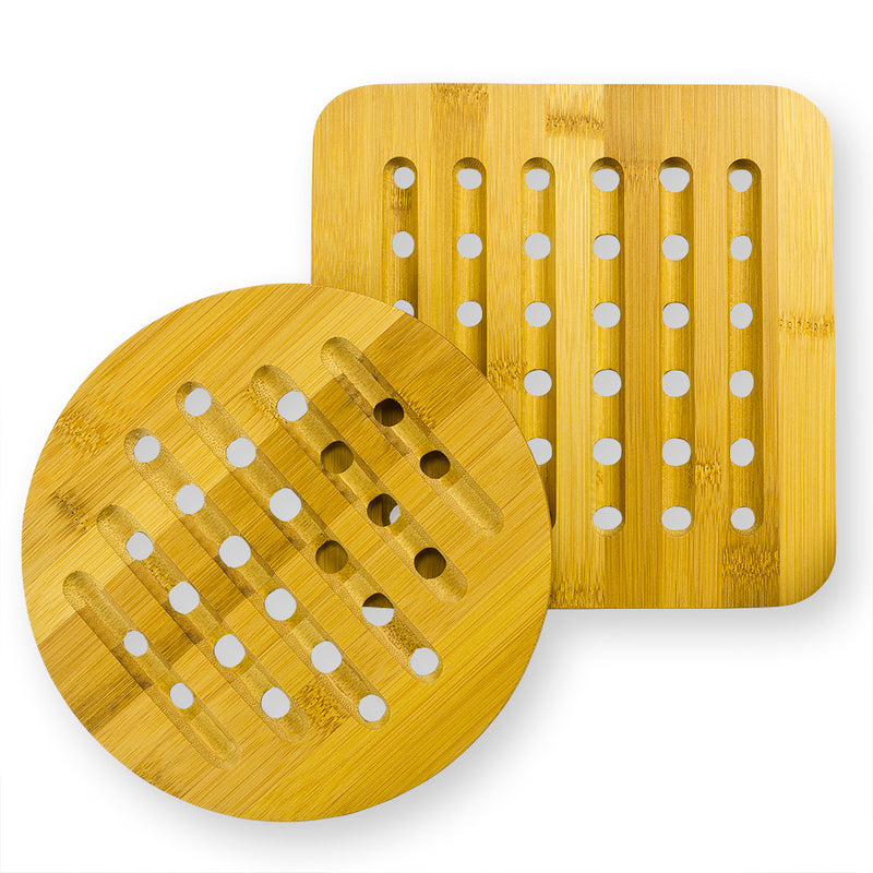 Bamboo Trivets (Set of 2)