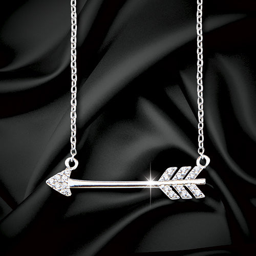 Swarovski® Crystal Arrow Necklace