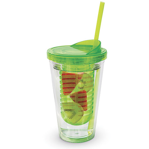Green Infusion Double Wall Tumbler