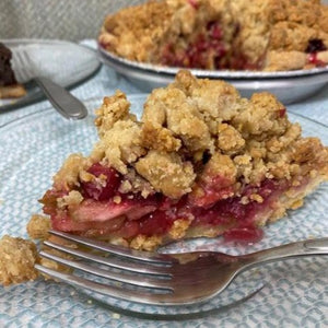 Apple, Cranberry and Ginger Pie
