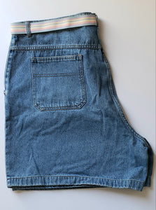Plus Size Cherokee Denim Shorts - (Un)Popular Fashion Society