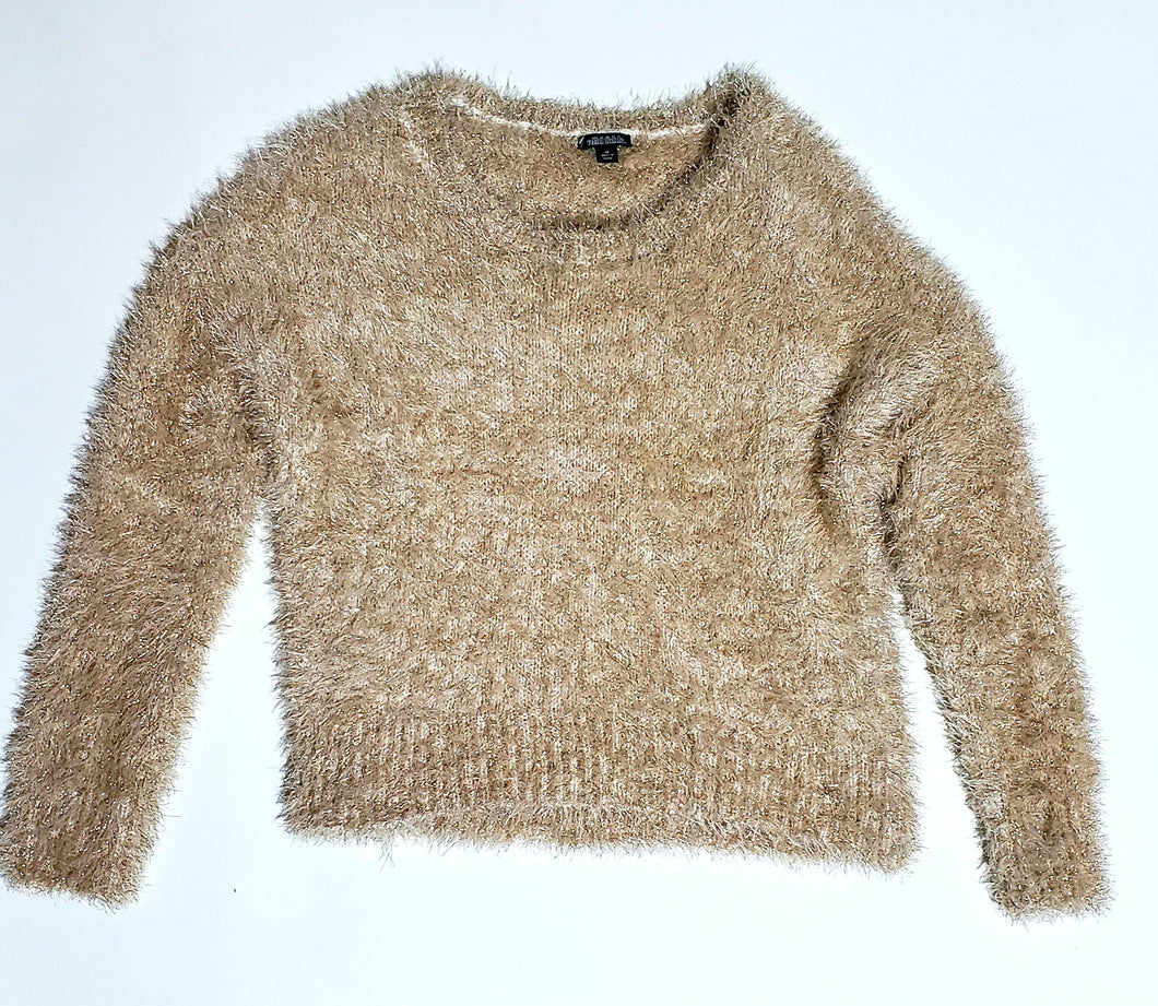 Wild Fable Gold Shag Sweater - (Un)Popular Fashion Society