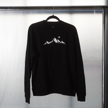 Load image into Gallery viewer, Blaq Mountain Crewneck