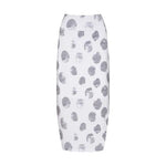 Lou Lou Australia | Bamboo Long Whitney Skirt Platinum Dot White