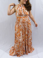 Ebby and I Summer Maple Maxi Dress Close