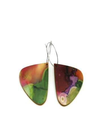 Solart Droplet Immersion Boho Natural Earings