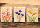 Handmade simple flowers make a great gift or the perfect addition to your decor.