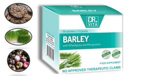 Barley with Wheatgrass and Mangosten (Family)