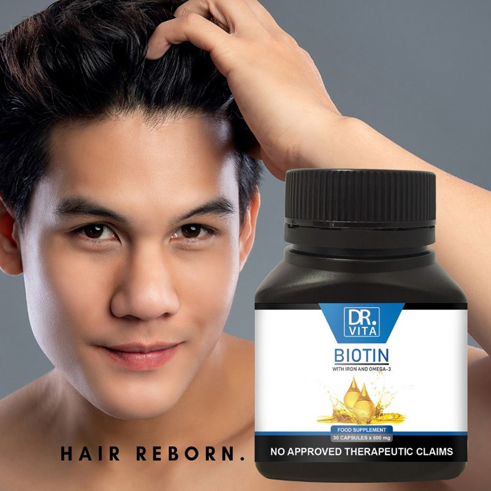 Biotin with Iron and Omega-3 (Men)