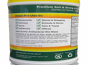 Germ Wipes Antibacterial Wet Wipes