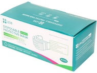 1 Case of 3 Ply Face Mask (40 boxes of 50 masks) (Disposable Civilian FDA Level I)