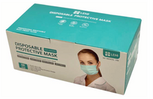 Load image into Gallery viewer, 1 Case of 3 Ply Face Mask (40 boxes of 50 masks) (Disposable Civilian FDA Level I)