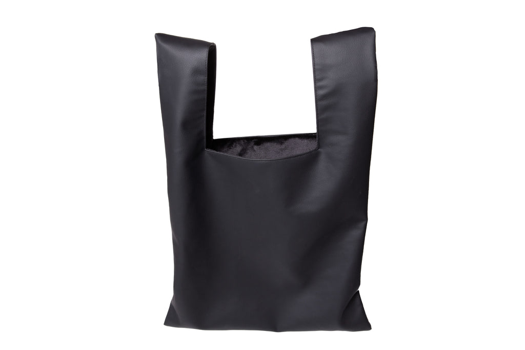 Charli Vegan Leather Shopping Bag