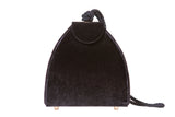 Penelope Velvet Shoulder Bag