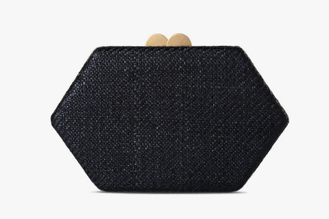 Arianne Straw Clutch Bag