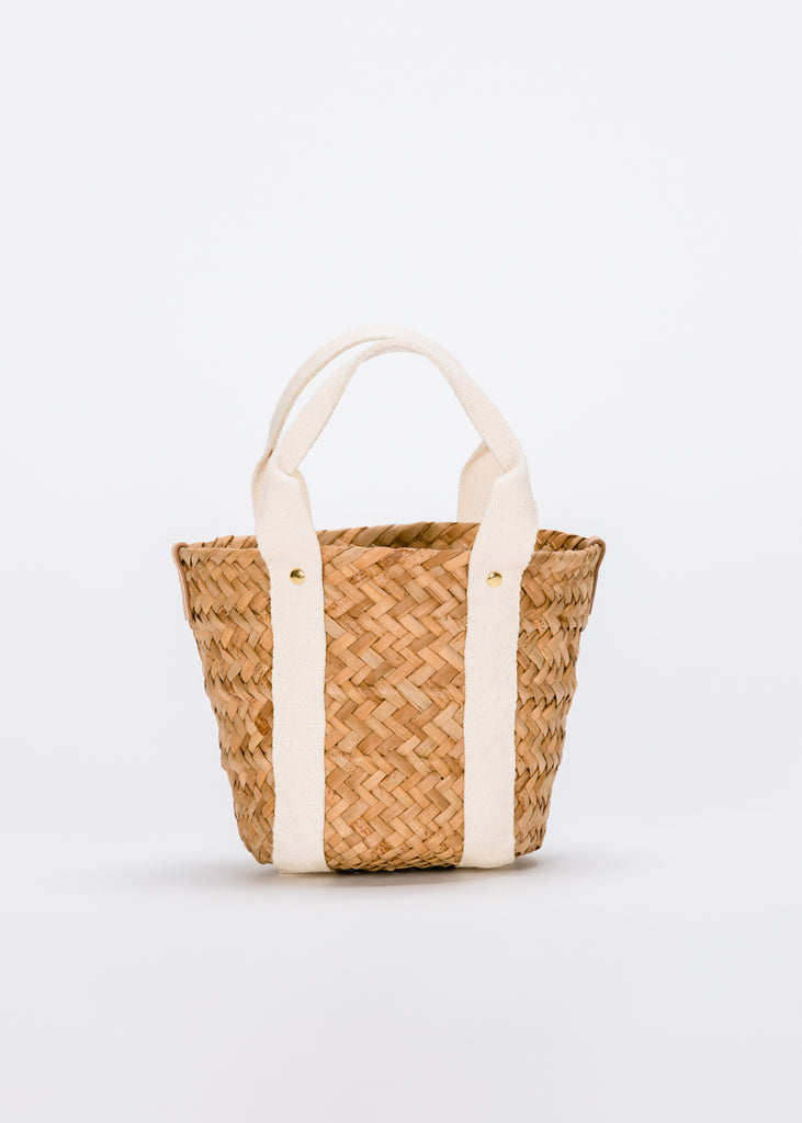 Mini Colbie Straw Tote