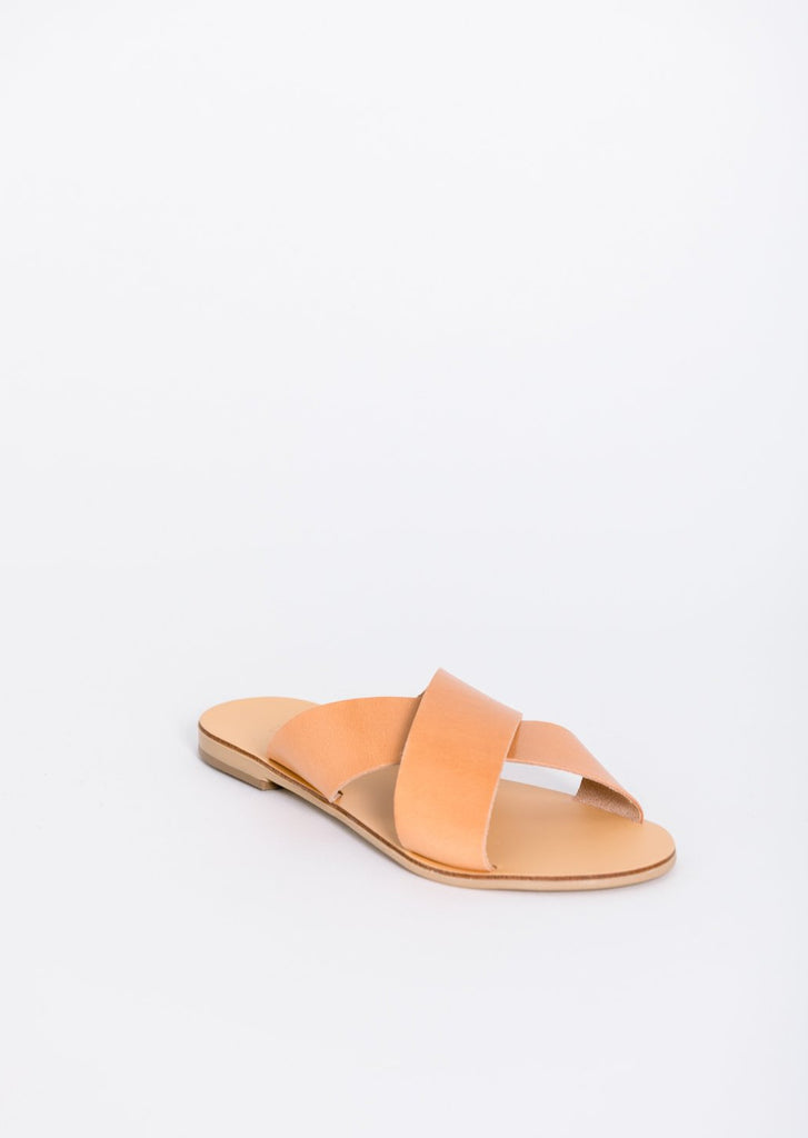 Paros Vegetable Tanned Leather Sandal