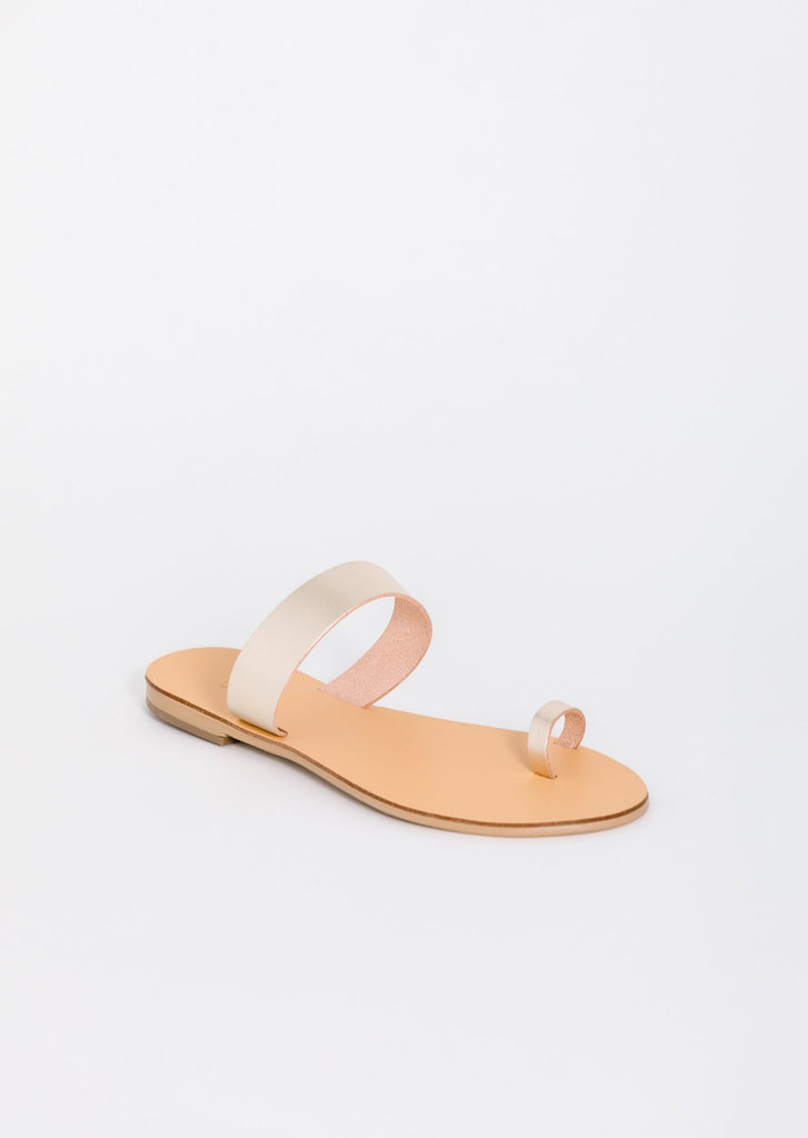 Thessa Vegetable Tanned Leather Sandal