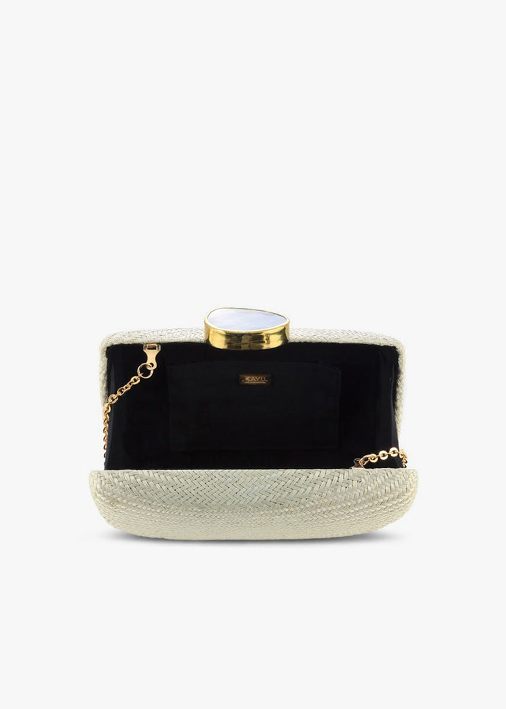 Tista Straw Clutch Bag