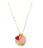 Pink Keepsake Necklace