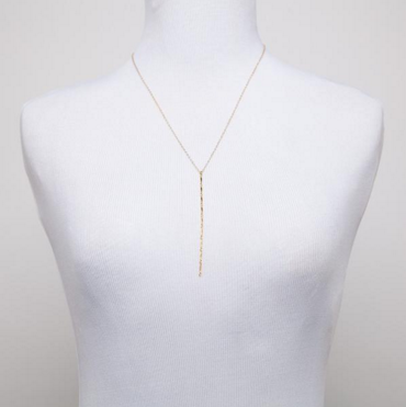 Gold Leaf Lariat