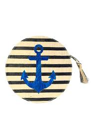 Black Stripes / Blue Anchor