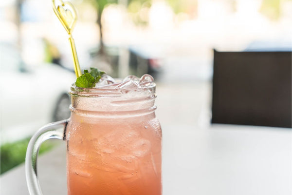 Lychee nut cocktail