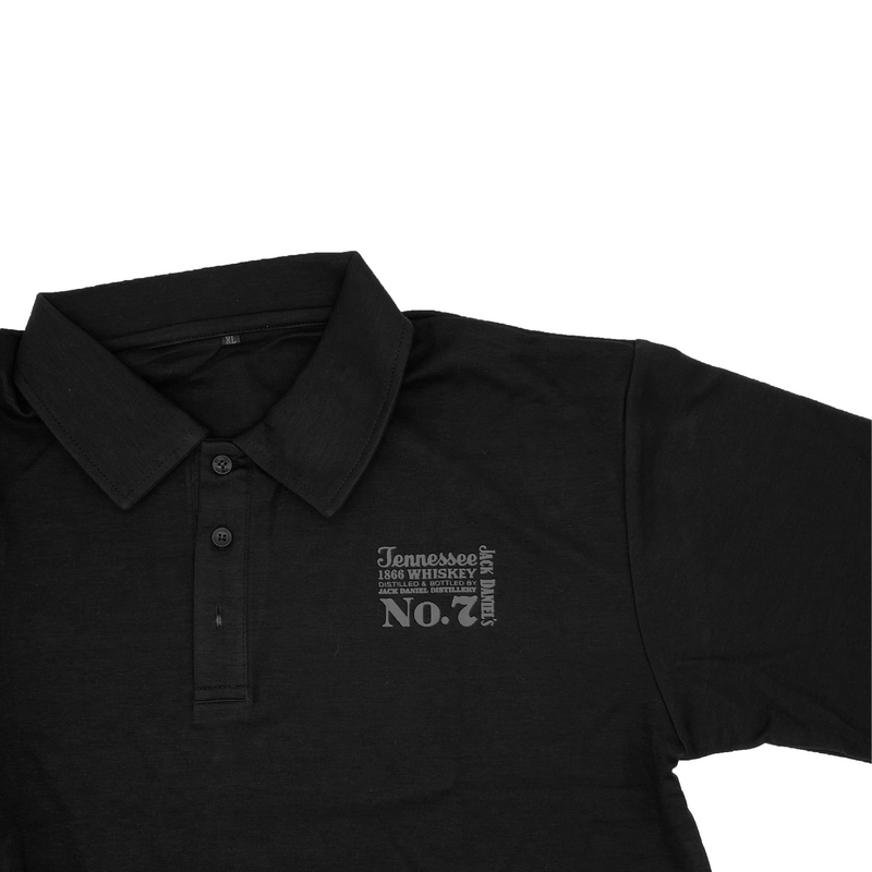 Jack Daniel's Old No. 7 Tennessee Whiskey 1L with Jack Daniel's Polo Shirt